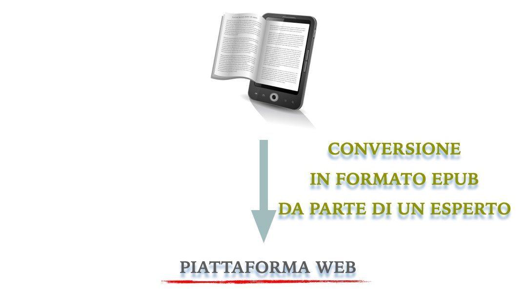 La pubblicazione del manoscritto in digitale su una piattaforma web